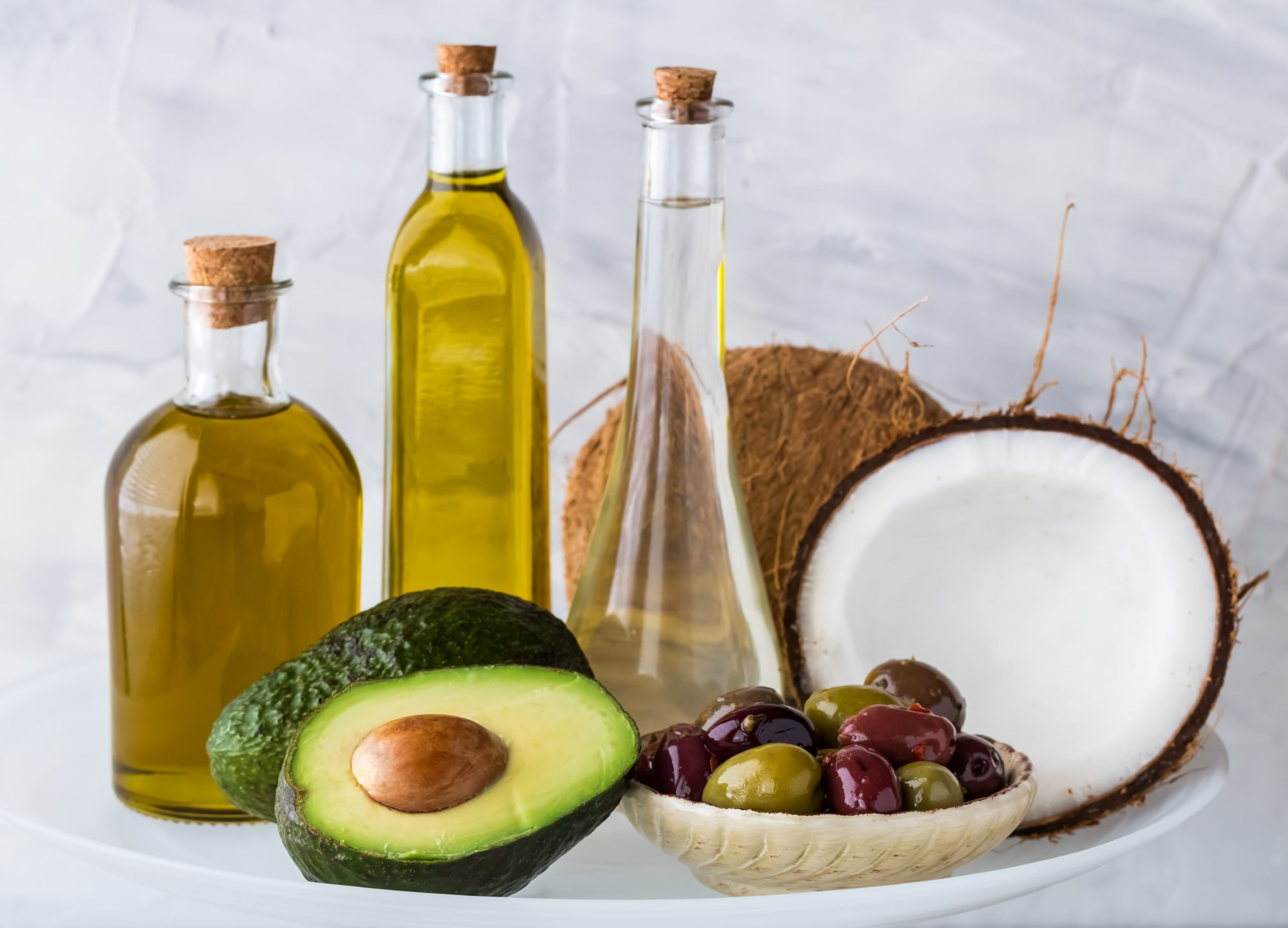 Saturated fats that are used for swank diet.
